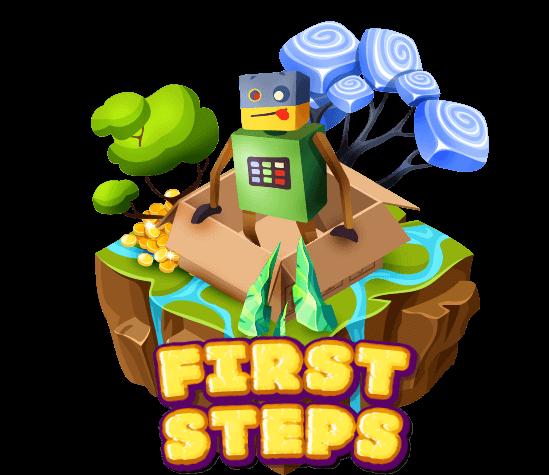 学习编程很容易。让我们从简单的动作开始来熟悉编程游戏。