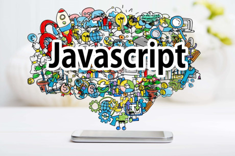 An illustrated that shows different benefits of JavaScript