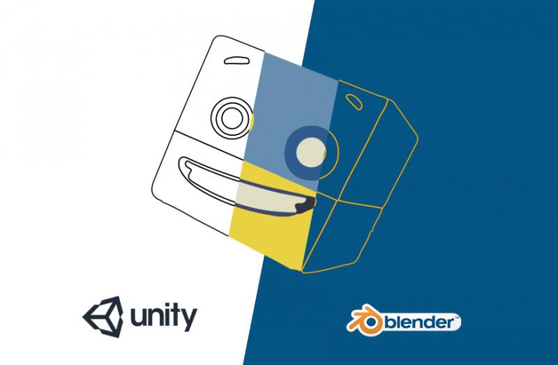 RoboGarden | Unity game development series: Modelling in Unity