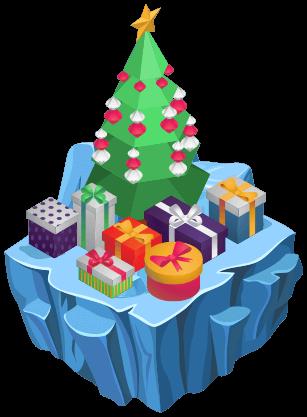 冬季世界围绕虚拟圣诞节庆祝活动而建。每年圣诞节期间,一个特殊的湖泊会变得非常迷人,镇上的人们会发现美丽的装饰品,它们在冰冻的表面上神奇地出现了。在湖面上收集装饰品是一次危险的冒险, Robo决定帮助市民收集装饰品来装饰小镇的圣诞树。他需要你来引导他,因为冰冷的湖泊可是很危险的。帮助Robo滑过冰冻的表面,安全地收集装饰品。